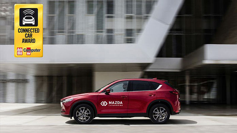 Mazda Carsharing gewinnt Connected Car Award 2018